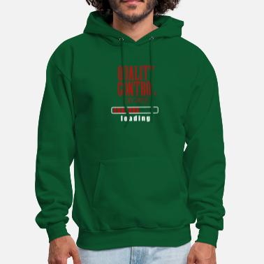 Quality Control Degree Loading Graduation Gift - Men's Hoodie