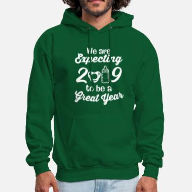 2019 Expecting Great Year New Year - Men's Hoodie