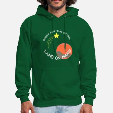 Shooting Star Shoot for the stars... - Men's Hoodie