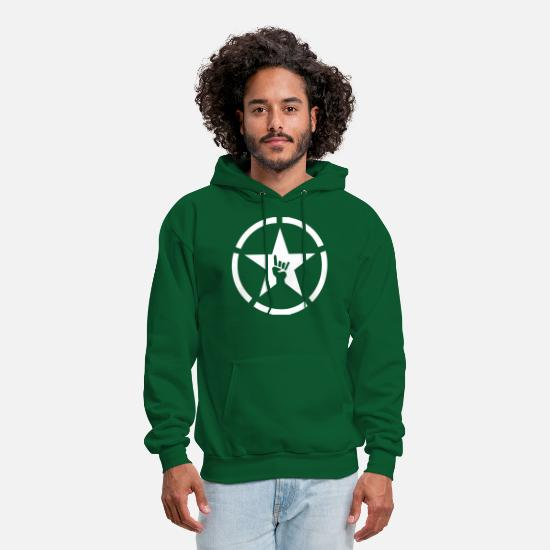 Propaganda Hoodies & Sweatshirts - Propaganda - Men's Hoodie forest green
