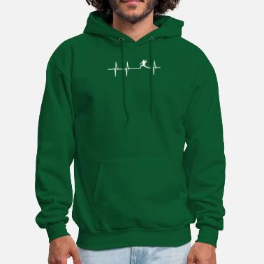Pitcher Baseball Heartbeat Pitcher Shirt - Men's Hoodie