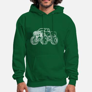 Monster Truck Monster Truck - Men's Hoodie