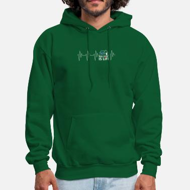 Real Life real estate is life - Men's Hoodie