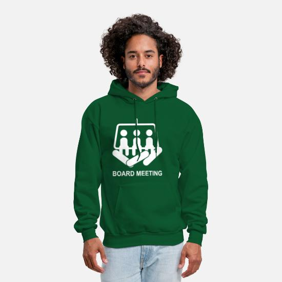 Snowboard Hoodies & Sweatshirts - Snowboard - Men's Hoodie forest green