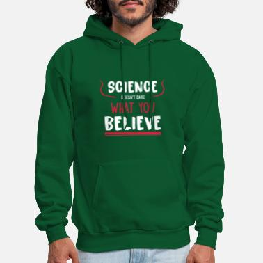 Science Shirt - funny gift idea for nerds - Men's Hoodie