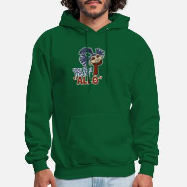 YOU HAD ME AT ALLO New - Men's Hoodie