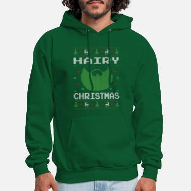 Hairy Christmas Hairy Christmas Beard - Men's Hoodie