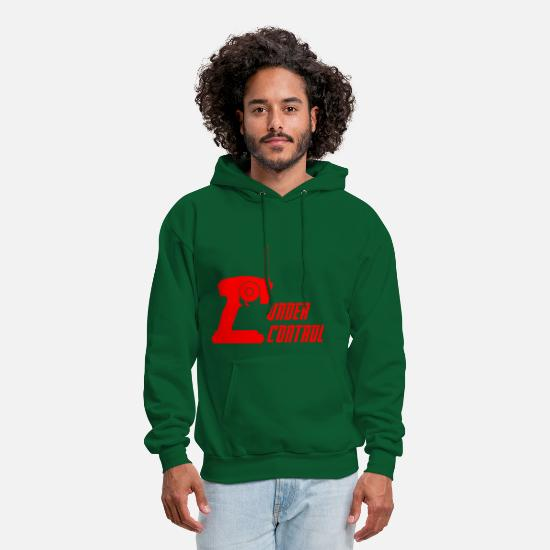 Controller Hoodies & Sweatshirts - under control - Men's Hoodie forest green