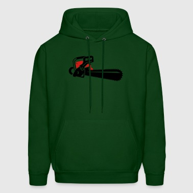 A chainsaw - Men's Hoodie