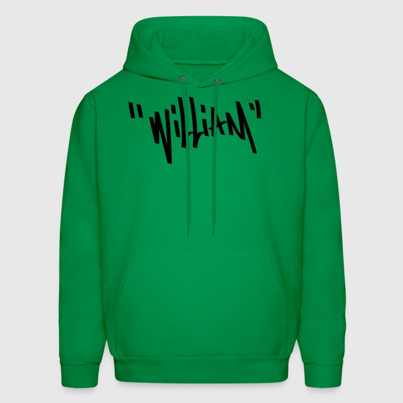 William Graffiti Name - Men's Hoodie