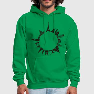 Around The World - Men's Hoodie