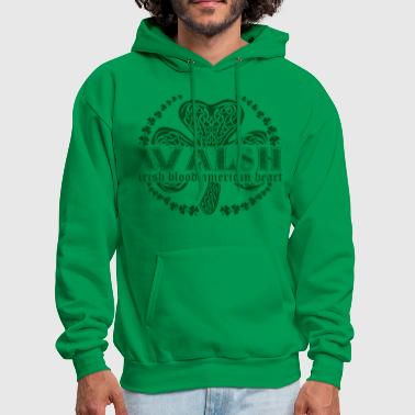 irish family name surname walsh - Men's Hoodie
