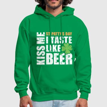 KISS ME I TASTE LIKE BEER - Men's Hoodie