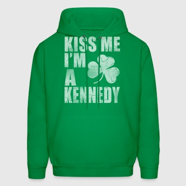Kiss Me Im A Kennedy Irish - Men's Hoodie