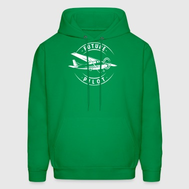 Future Pilot - aeronautics pilot airplane gift - Men's Hoodie