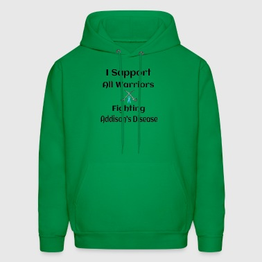 Support all Warriors Fighting Addison's Disease - Men's Hoodie