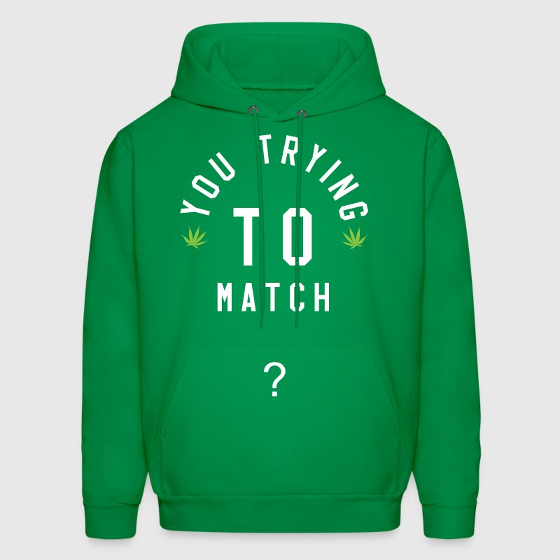 You Trying To Match? Crewneck (Night) - Men's Hoodie