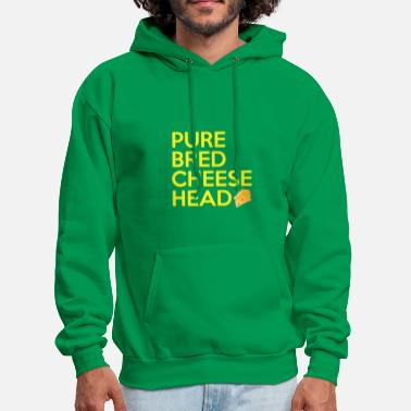 Pure-bred Pure Bred Cheese Head - Men's Hoodie