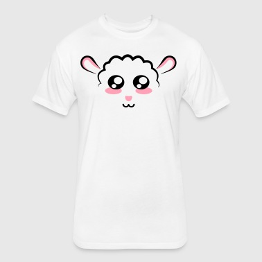 Sheepy Sheep - Fitted Cotton/Poly T-Shirt by Next Level