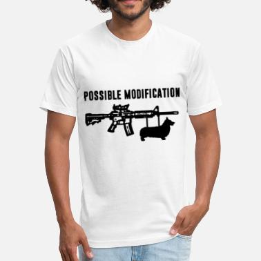 Bayonet Possible Modification Corgi Bayonet - Fitted Cotton/Poly T-Shirt by Next Level
