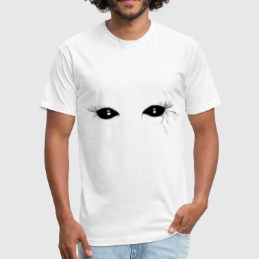 Demon Eyes DEMON EYES - Fitted Cotton/Poly T-Shirt by Next Level