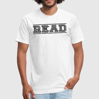 Read This Read - Fitted Cotton/Poly T-Shirt by Next Level