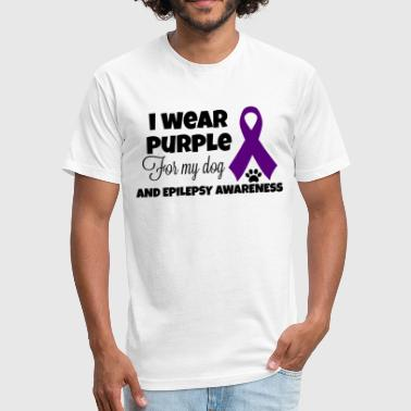 I Wear Purple I Wear Purple - Fitted Cotton/Poly T-Shirt by Next Level