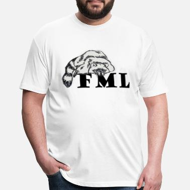 Fml FML - Fitted Cotton/Poly T-Shirt by Next Level