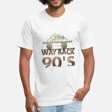 Way Back Way back 90s - Fitted Cotton/Poly T-Shirt by Next Level