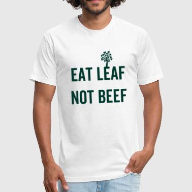 Vegan vegetarian animal welfare gift idea - Fitted Cotton/Poly T-Shirt by Next Level