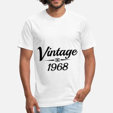 Limited Edition Est.1968 VINTAGE 1968 - Fitted Cotton/Poly T-Shirt by Next Level