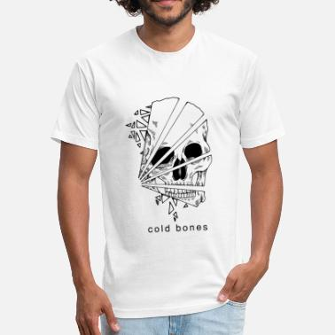 Geo Geo Skull - Fitted Cotton/Poly T-Shirt by Next Level