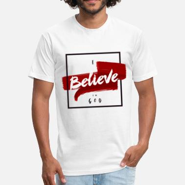 Religious I believe - Unisex Poly Cotton T-Shirt