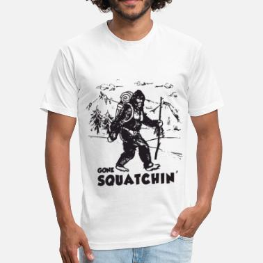 Gone squatching - Unisex Poly Cotton T-Shirt