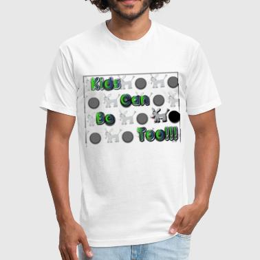 Witty Kids Kids Can Be.... - Fitted Cotton/Poly T-Shirt by Next Level