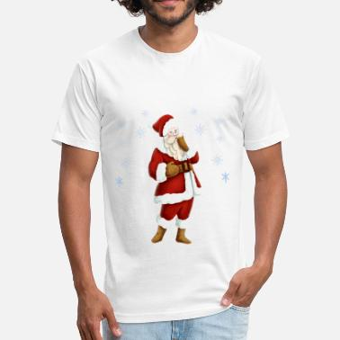 St Nicholas Nicholas Day - Fitted Cotton/Poly T-Shirt by Next Level