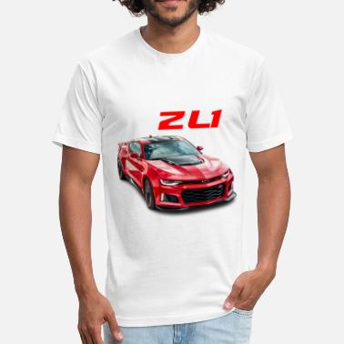 Zl1 ZL1 camaro - Fitted Cotton/Poly T-Shirt by Next Level