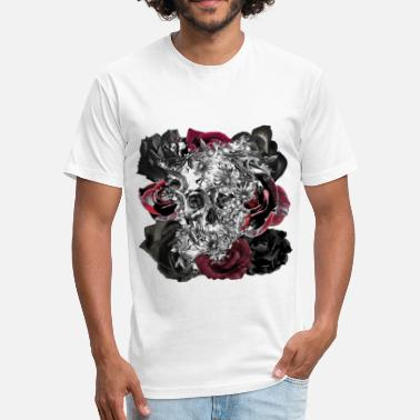 Ugly Beautiful Beautiful and ugly - Fitted Cotton/Poly T-Shirt by Next Level