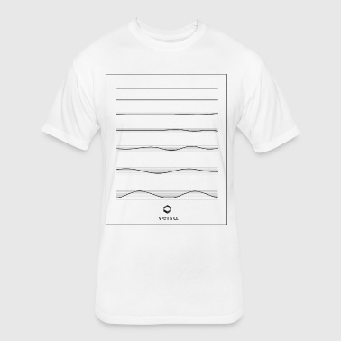 waves - Fitted Cotton/Poly T-Shirt by Next Level