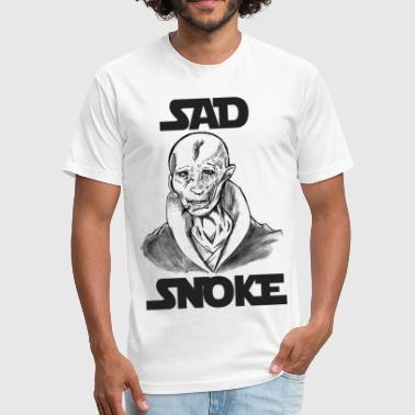 The Last Jedi Star Wars The Last Jedi Sad Snoke Shirt - Fitted Cotton/Poly T-Shirt by Next Level