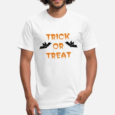 Treats or Treat - Fitted Cotton/Poly T-Shirt by Next Level