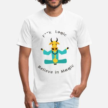 Holy Cow Holy Cow - Fitted Cotton/Poly T-Shirt by Next Level