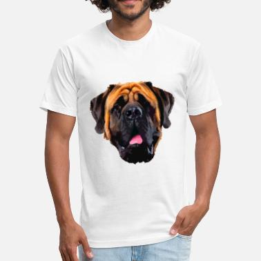 English Mastiff Shirt - Fitted Cotton/Poly T-Shirt by Next Level
