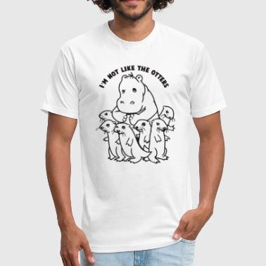 Not Like The Otters Not Like The Otters - Fitted Cotton/Poly T-Shirt by Next Level