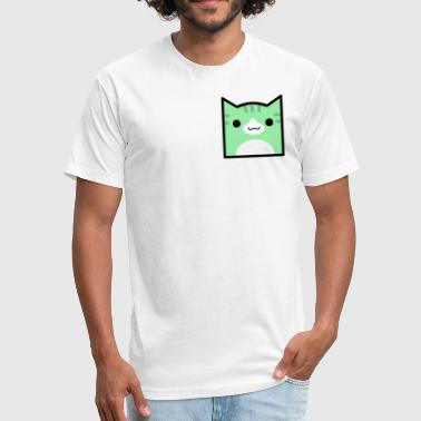 Juni Juni Cat Icon - Fitted Cotton/Poly T-Shirt by Next Level