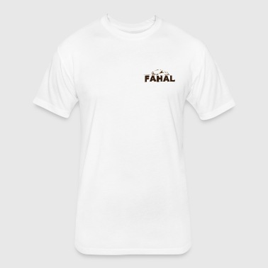 fahal  - Fitted Cotton/Poly T-Shirt by Next Level