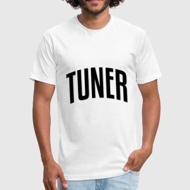 TUNER - Fitted Cotton/Poly T-Shirt by Next Level