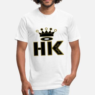 Hks hk - Fitted Cotton/Poly T-Shirt by Next Level