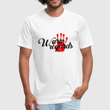 Regarder Warm Regards - Fitted Cotton/Poly T-Shirt by Next Level