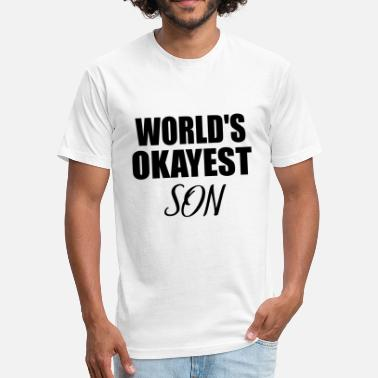 Sondre okay son - Fitted Cotton/Poly T-Shirt by Next Level